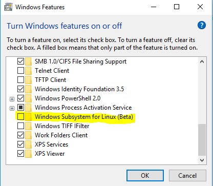 Enable Windows Feature